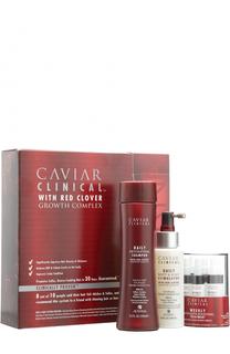 Набор Caviar Clinical: Шампунь-детокс + Спрей-активатор + Уход-активатор Alterna