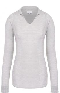 Приталенный пуловер с отложным воротником Escada Sport
