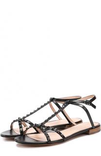 Кожаные сандалии Ana с заклепками Marc Jacobs