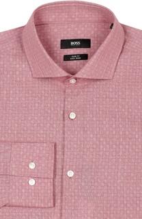 Приталенная сорочка BOSS