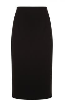 Хлопковая юбка-карандаш Escada