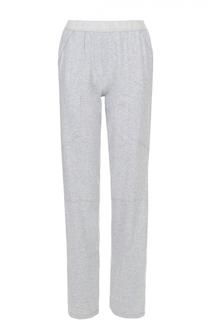 Спортивные брюки прямого кроя с эластичным поясом Deha