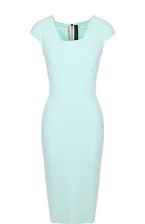 Платье-футляр с асимметричным вырезом Roland Mouret