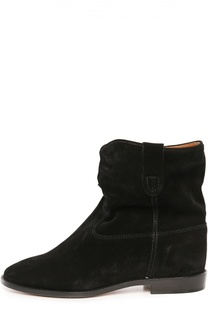Замшевые ботинки с широким голенищем Isabel Marant Etoile