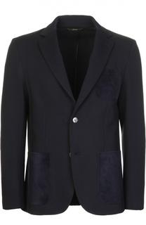 Вязаный пиджак Brioni