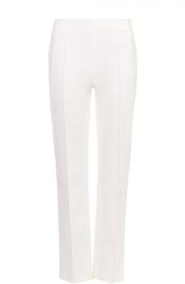 Укороченные брюки прямого кроя с завышенной талией Escada