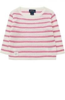 Пуловер в полоску Polo Ralph Lauren