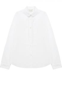 Хлопковая блуза с декором Gucci