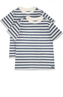 Комплект из двух футболок джерси в полоску Polo Ralph Lauren