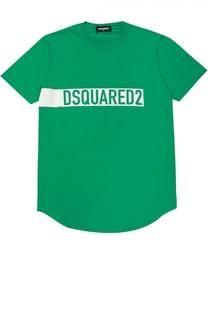 Футболка джерси с принтом Dsquared2