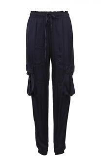 Укороченные брюки с эластичным поясом и накладными карманами Denim&Supply by Ralph Lauren