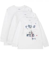 Комплект из трех свитшотов Polo Ralph Lauren