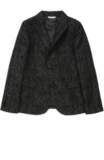 Пиджак из фактурной ткани с узором Dolce & Gabbana