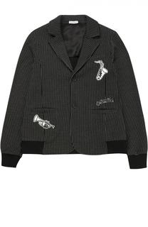 Пиджак с декором и аппликациями Dolce & Gabbana