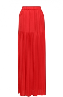 Плиссированная юбка-макси с эластичным поясом Escada Sport