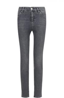 Джинсы-скинни с потертостями MiH Jeans