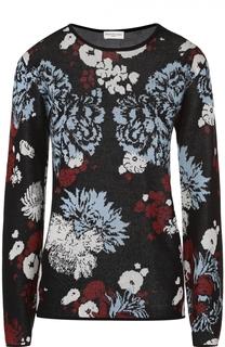 Пуловер прямого кроя с цветочным принтом Dries Van Noten