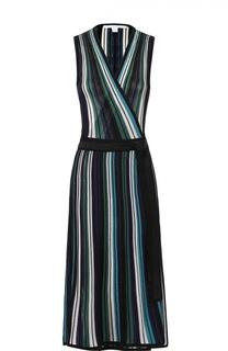 Приталенное платье-миди с запахом Diane Von Furstenberg