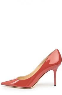 Лаковые туфли Agnes на шпильке Jimmy Choo