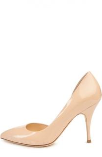 Лаковые туфли на шпильке Duccio Venturi Bottier