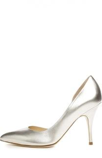 Туфли из металлизированной кожи Duccio Venturi Bottier