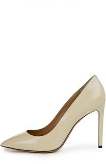 Лаковые туфли Eleine на шпильке Bally