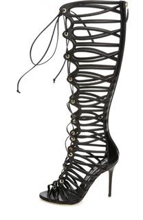 Высокие босоножки Jules на шнуровке Brian Atwood