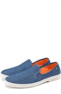 Эспадрильи из денима Rivieras Leisure Shoes