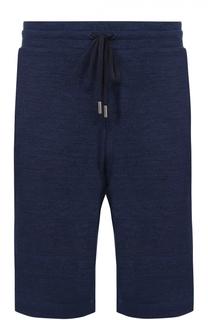 Шерстяные шорты свободного кроя Canali