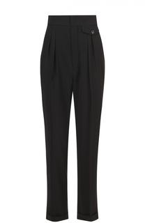 Укороченные брюки с защипами и завышенной талией Isabel Marant