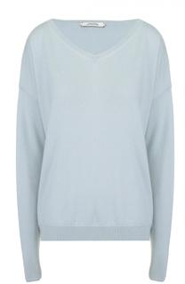Кашемировый пуловер свободного кроя с V-образным вырезом Dorothee Schumacher