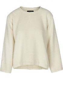 Шерстяной пуловер с укороченным рукавом Isabel Marant