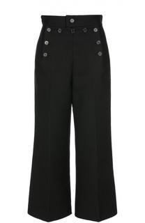 Укороченные расклешенные брюки с завышенной талией Marc Jacobs