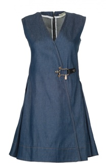 Джинсовое платье Balenciaga