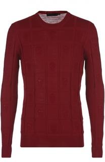 Пуловер вязаный Alexander McQueen