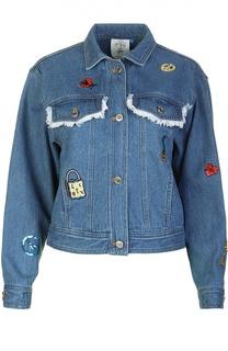 Джинсовая куртка Steve J & Yoni P