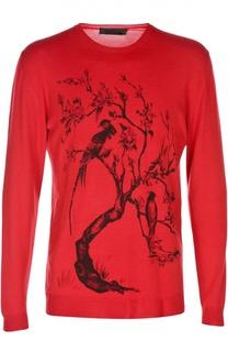 Вязаный пуловер Alexander McQueen