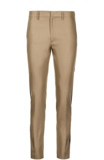 Хлопковые брюки с лампасами Valentino