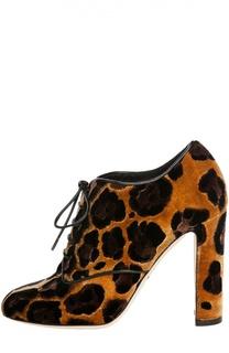 Ботильоны Vally на шнуровке Dolce & Gabbana