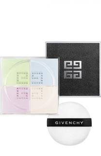 Матирующая рассыпчатая пудра для лица Prisme Libre, оттенок 1 Mousseline Pastel Givenchy