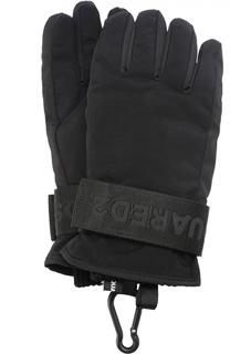 Утепленные перчатки с манжетами Dsquared2