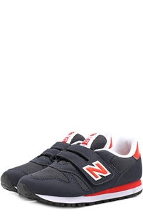 Комбинированные кроссовки 373 с застежкой велькро New Balance
