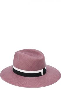 Шляпа Henrietta с лентой Maison Michel