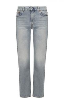 Укороченные джинсы прямого кроя Acne Studios