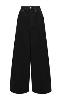 Широкие расклешенные джинсы с завышенной талией Balenciaga