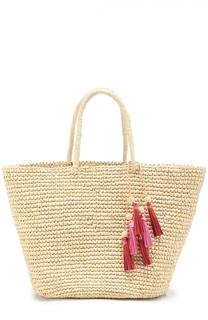 Плетеная сумка с брелоком Sensi Studio