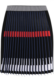 Приталенная мини-юбка с контрастной отделкой MRZ