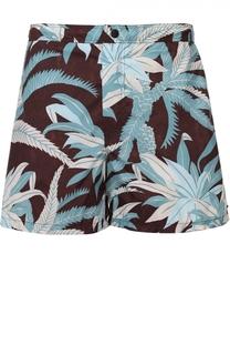 Плавки-шорты с цветочным принтом и карманами Valentino