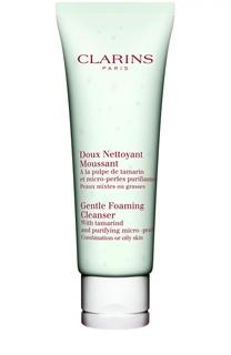 Очищающий пенящийся крем с экстрактом тамаринда Doux Nettoyant Moussant Clarins
