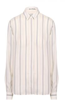 Блуза прямого кроя с полоску Acne Studios
